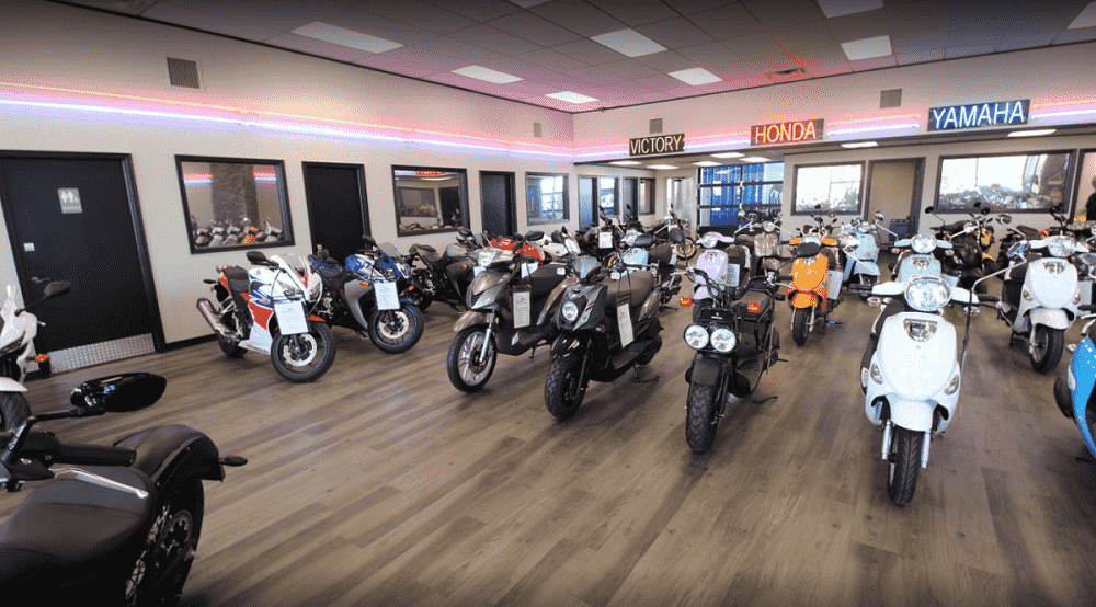 photos of our motorcycles, scooters, atvs, & utvs dealership in